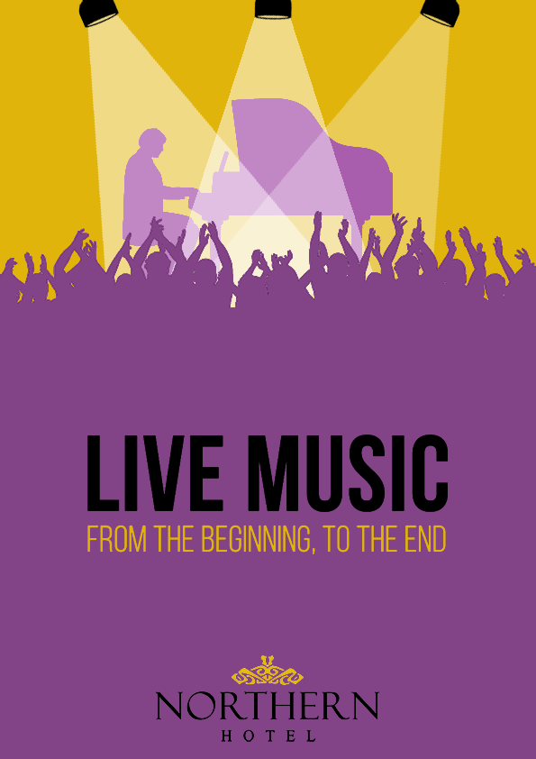 Tribute Bands Poster - Copyright Electronic Persuasion